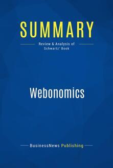 Summary: Webonomics