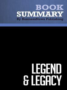 Summary: Legend & Legacy