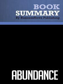 Summary: Abundance