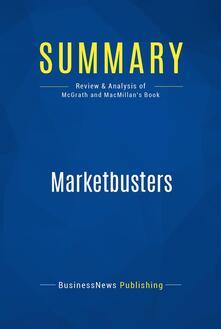 Summary: Marketbusters