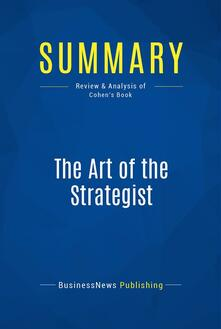Summary: The Art of the Strategist