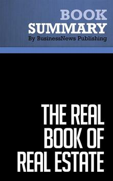 Summary: The Real Book of Real Estate