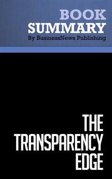 Summary: The Transparency Edge