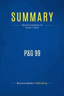 Summary: P&G 99