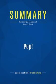 Summary: Pop!