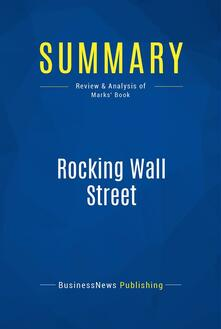 Summary: Rocking Wall Street