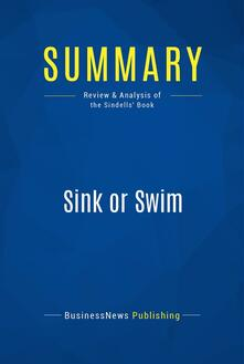 Summary: Sink or Swim