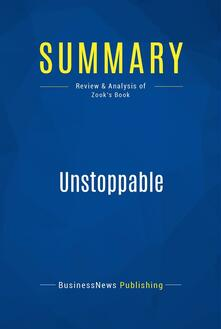 Summary: Unstoppable