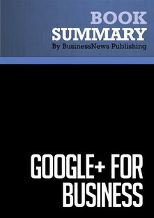 Summary: Google+ for Business