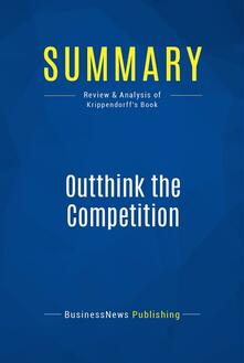 Summary: Outthink the Competition