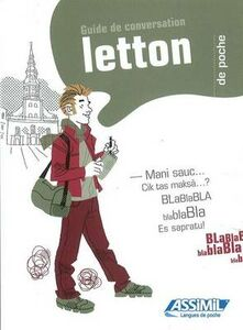 Libro Le letton de poche B. Christophe