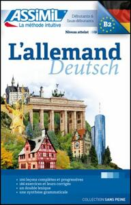 L' allemand - Maria Roemer - copertina