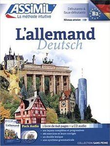 Libro L' allemand. Con 4 CD Audio Maria Roemer