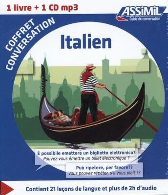 Italien. Coffret conversation. Con CD Audio formato MP3
