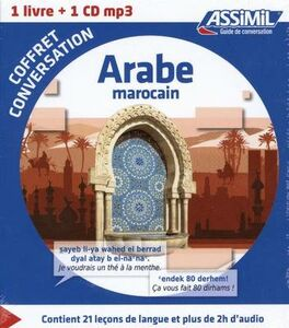 Libro Arabe marocain. Coffret conversation. Con CD Audio formato MP3 M. Quitout