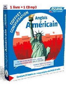 Libro Anglais Américain. Coffret conversation. Con CD Audio formato MP3 Meg Morley