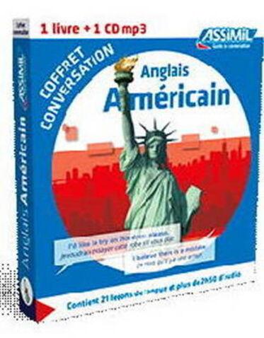 Anglais Américain. Coffret conversation. Con CD Audio formato MP3