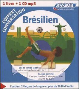 Libro Brésilien. Coffret conversation. Con CD Audio formato MP3 Naiana Bueno