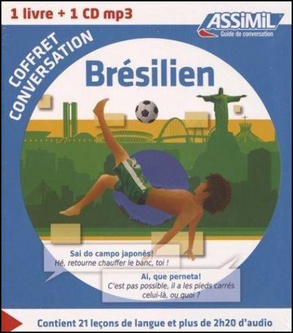 Brésilien. Coffret conversation. Con CD Audio formato MP3