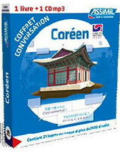 Libro Coréen. Coffret conversation. Con CD Audio formato MP3 Kim Inseon