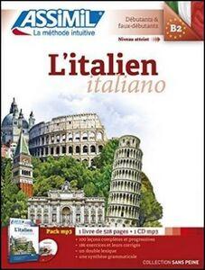 Libro L' italien. Con 1 CD Audio formato MP3 Anne-Marie Olivieri