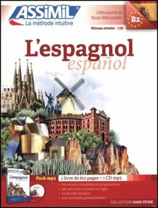 Foto Cover di L' espagnol. Con 1 CD Audio formato MP3, Libro di Francisco J. Martinez, edito da Assimil Italia