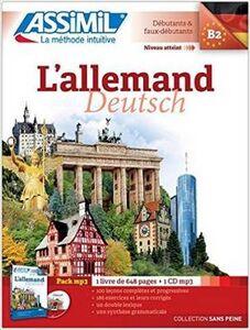 Foto Cover di L' allemand. Con CD Audio formato MP3, Libro di Maria Roemer, edito da Assimil Italia