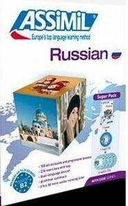 Russian. Con 4 CD Audio. Con CD Audio formato MP3 - Victoria Melnikova-Suchet - copertina
