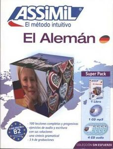 Alemán (El). Con 4 CD Audio. Con CD Audio formato MP3