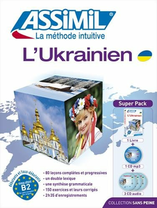 Libro L' ukrainien. Con 4 CD Audio. Con CD Audio formato MP3 Tatiana Ilyushyna Ollier