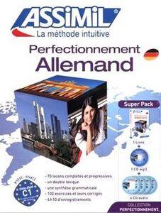 Foto Cover di Perfectionnement allemand. Con 4 CD Audio. Con CD Audio formato MP3, Libro di V. Eismann, edito da Assimil Italia
