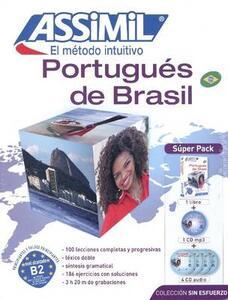 Portugués de Brasil. Con 4 CD Audio. Con 4 CD Audio formato MP3 - Juliana Grazini Dos Santos,Monica Hallberg,Marie-Pierre Mazéas - copertina