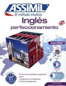 Inglés perfeccionamiento. Con 4 CD Audio e 1 CD Audio formato MP3 - Anthony Bulger - copertina