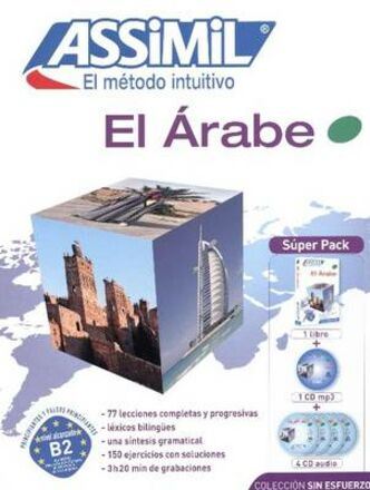 Árabe. Con 4 CD Audio. Con 1 CD Audio formato MP3 (El)