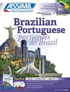 Libro Brazilian portuguese. Con 4 CD Audio. Con CD Audio formato MP3 Juliana Grazini Dos Santos , Monica Hallberg , Marie-Pierre Mazéas