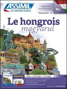 Libro Le hongrois Con 4 CD Audio. Con CD audio formato MP3 Georges Kassai , Thomas Szende