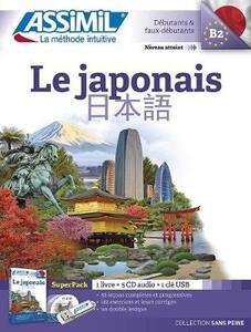 Le japonais. Con USB formato MP3. Con 5 CD-Audio