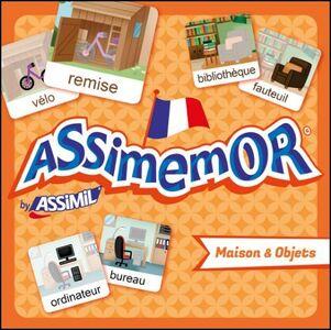 Foto Cover di Maison et objets, Libro di  edito da Assimil Italia