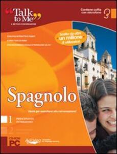 Talk to me 7.0. Spagnolo. Livello 1 (base-intermedio). CD-ROM - copertina
