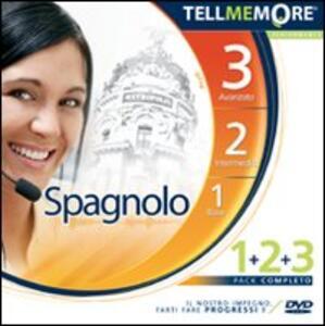 Tell me more 9.0. Spagnolo. Kit 1-2-3. CD-ROM - copertina