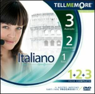 Tell me more 9.0. Italiano. Kit 1-2-3. CD-ROM - copertina