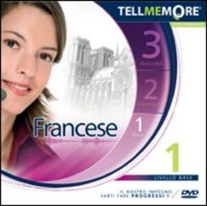 Tell me more 9.0. Francese. Livello 1 (base). CD-ROM - copertina