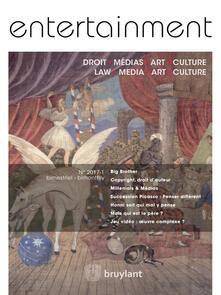 Entertainment--Droit, Médias, Art, Culture 2017/1
