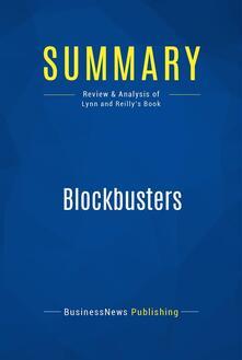 Summary: Blockbusters