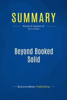 Summary: Beyond Booked Solid