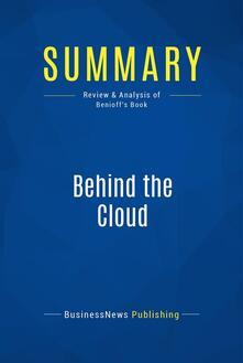 Summary: Behind the Cloud