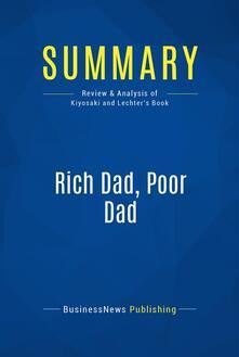 Summary: Rich Dad, Poor Dad
