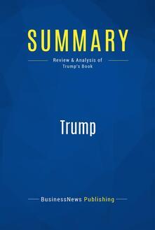 Summary: Trump