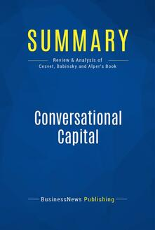 Summary: Conversational Capital