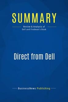 Summary: Direct from Dell